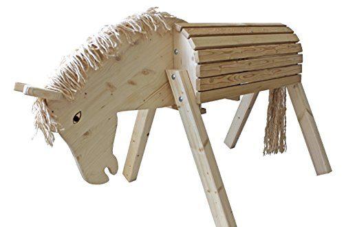 Sweety Toys 10684 Gartenpferd- Holzpferd Susi